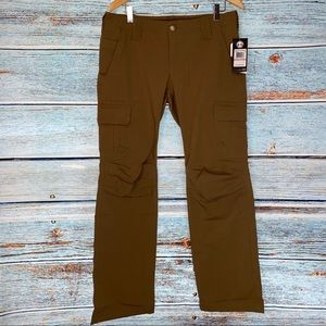 Under Armour Tactical Pants Water Resistant Coyote